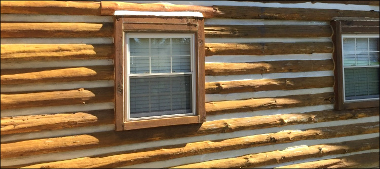 Log Home Whole Log Replacement